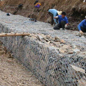 Slope Revetment Gabion